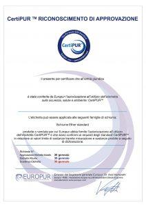 Certificato-Certipur