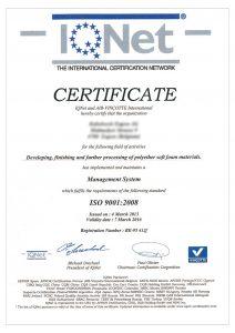 Certificato-IQNET