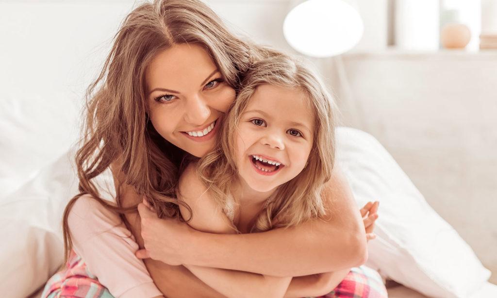 mamma-bambina-letto-air-gel
